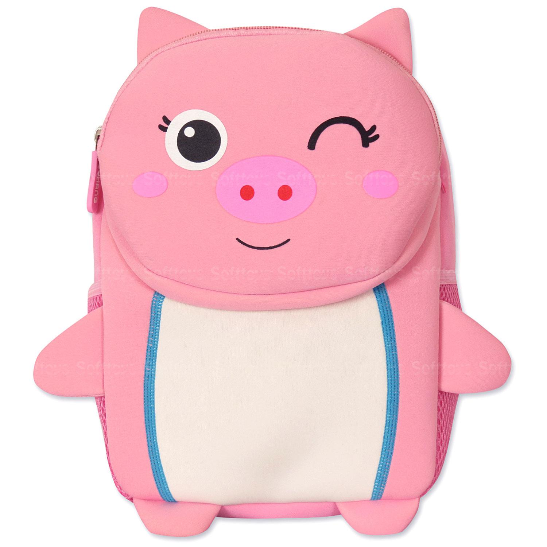 Мягкая игрушка-рюкзак Поросёнок
