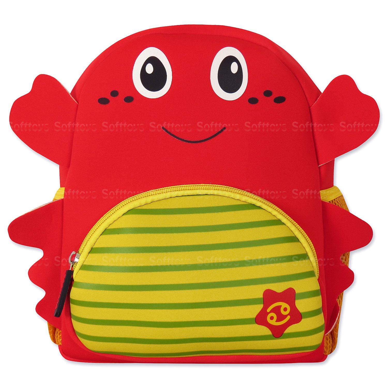 Мягкая игрушка-рюкзак Рак