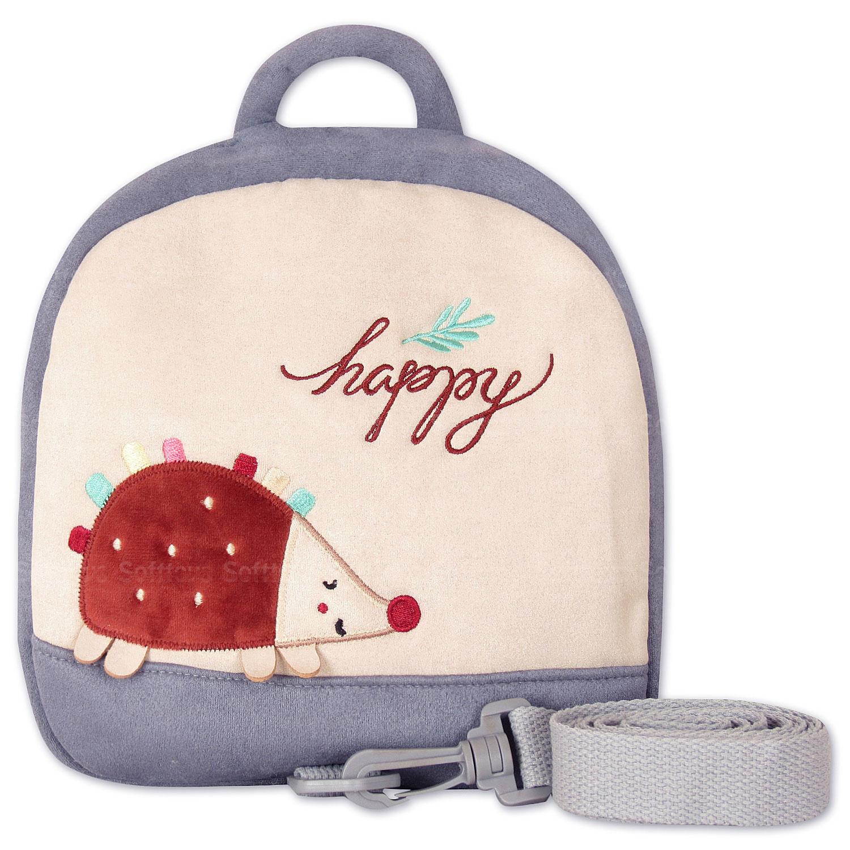 Мягкая игрушка-рюкзак Счастливый ёжик