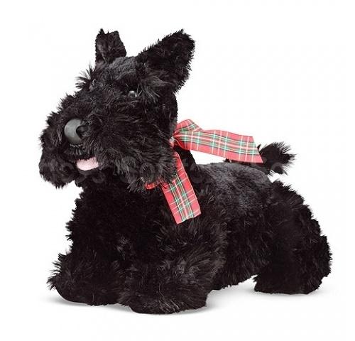 Мягкая игрушка щенок Шотландского-Терьера