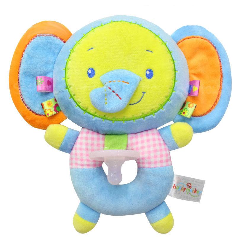 Мягкая игрушка-соска Слоник