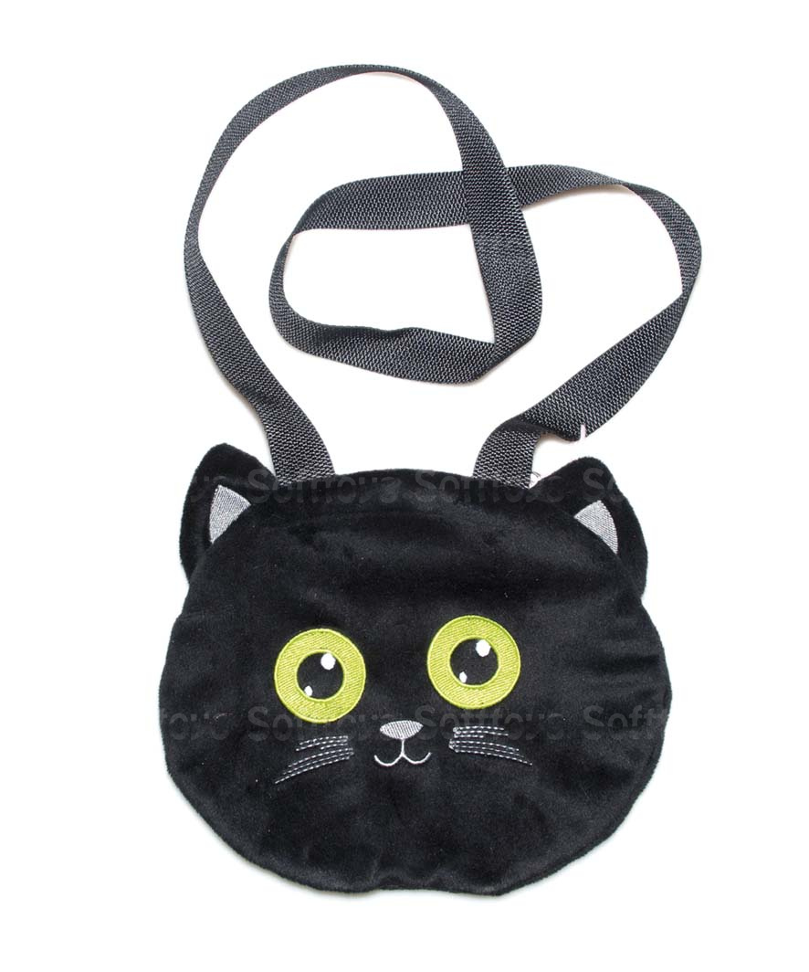 "Мягкая игрушка-сумка ""Котик"""
