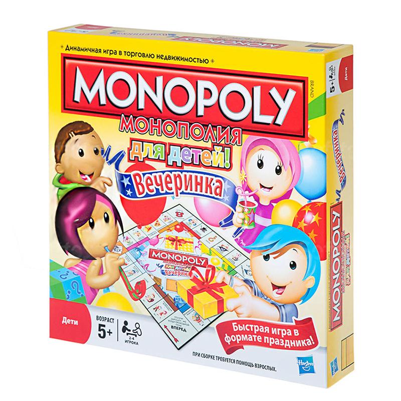 Настольная игра для детей Монополия Вечеринка на русском ...