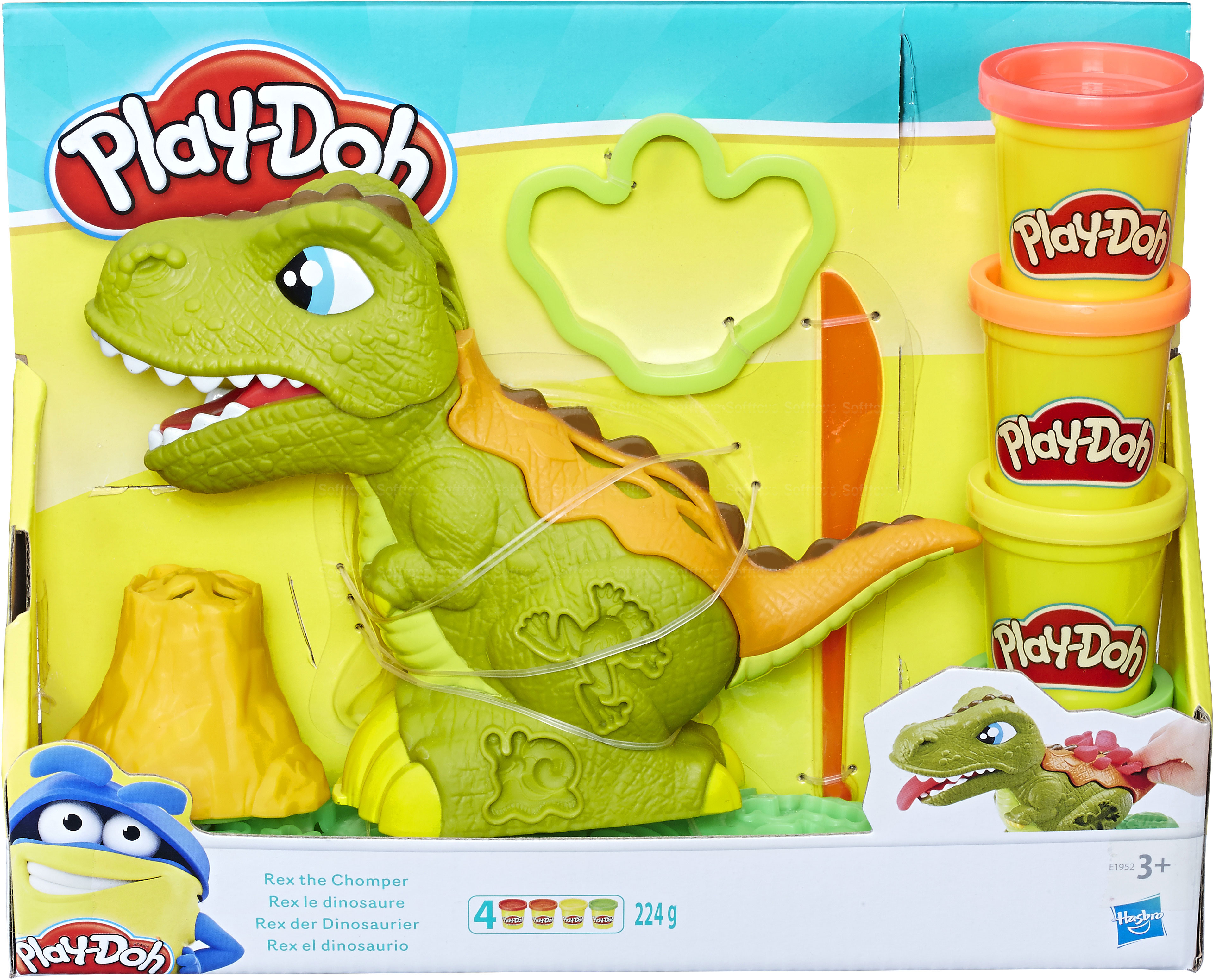 Плей До набор Могучий Динозавр