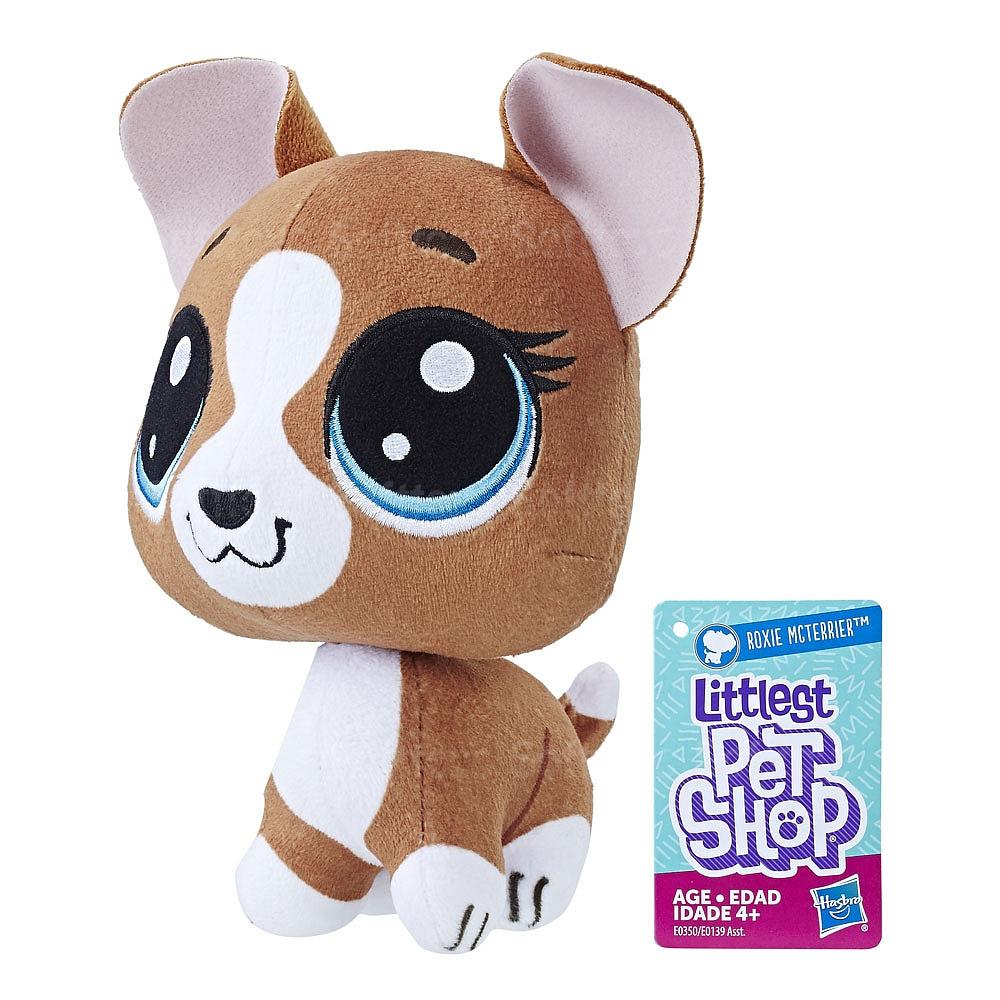 Плюшевый пет с качающейся головой (Littlest Pet Shop) ROXIE MCTERRIER