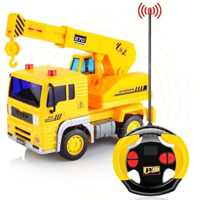 Строительная машина Автокран на радиоуправлении 1:20