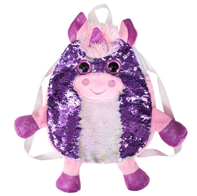 Сумка-рюкзак «Единорог блестяшка»