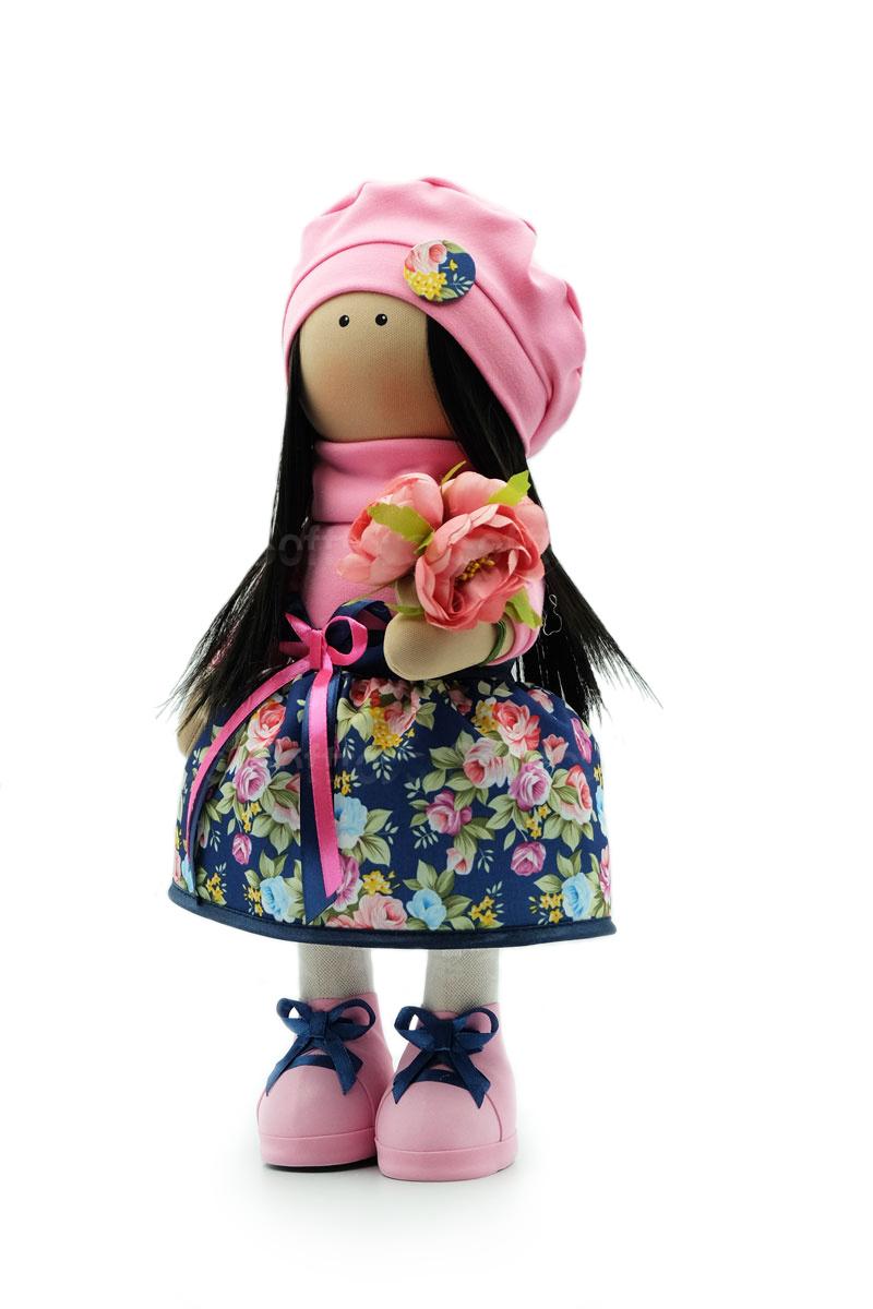 Текстильная Кукла ручной работы Аля