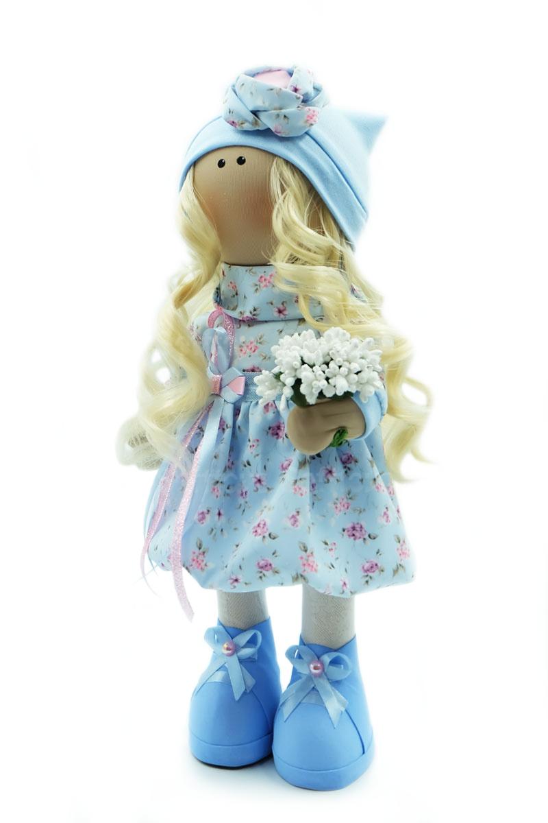 Текстильная Кукла ручной работы Анастасия