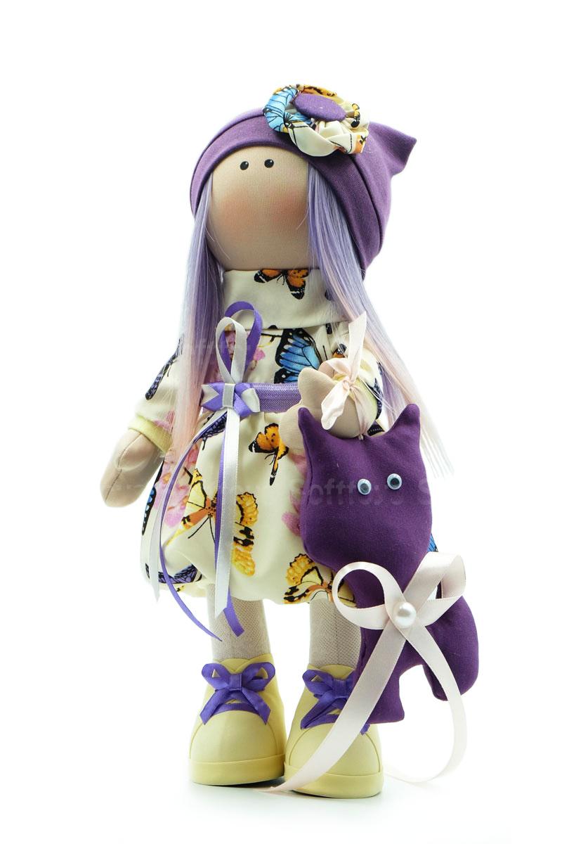 Текстильная Кукла ручной работы Аня