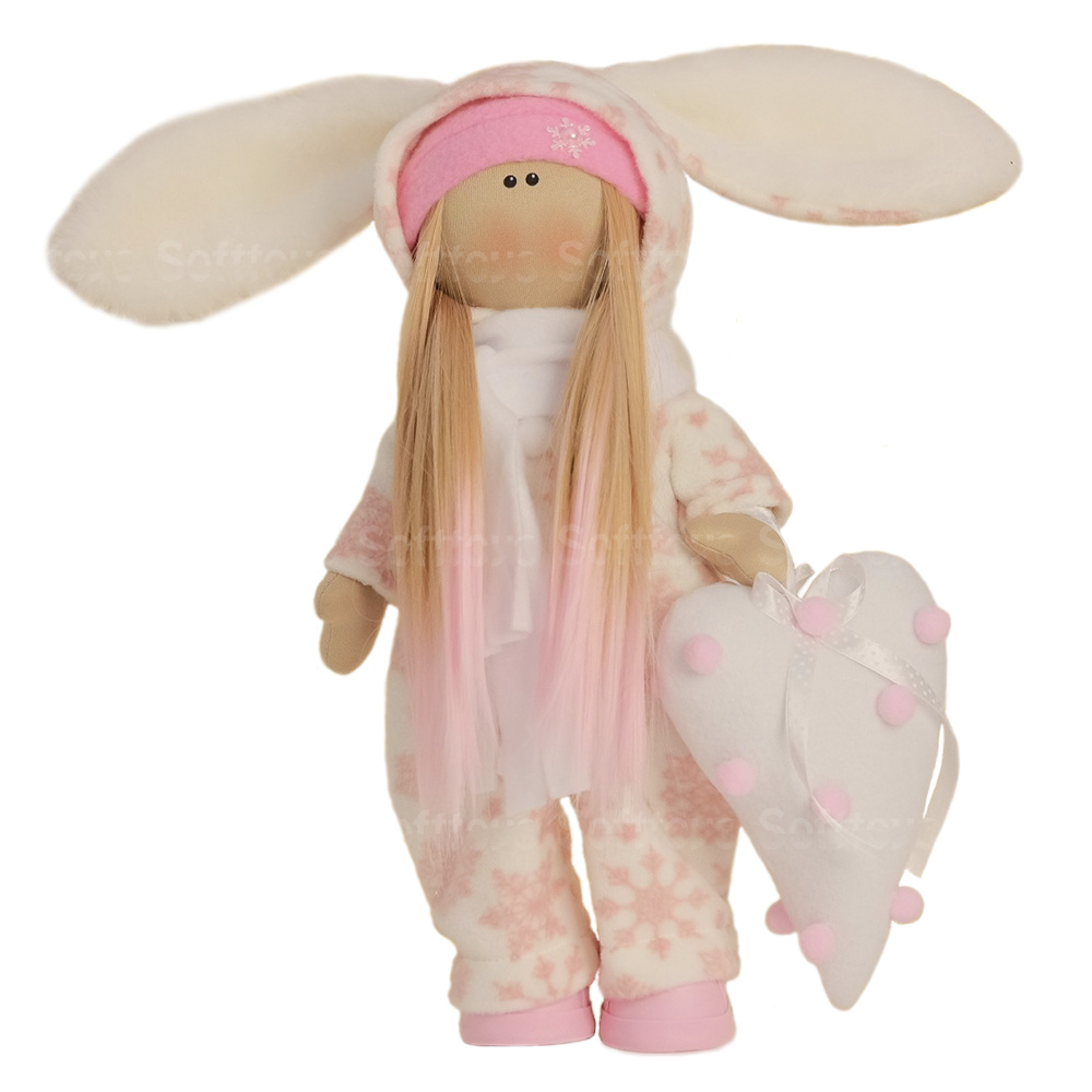 Текстильная Кукла ручной работы Боня