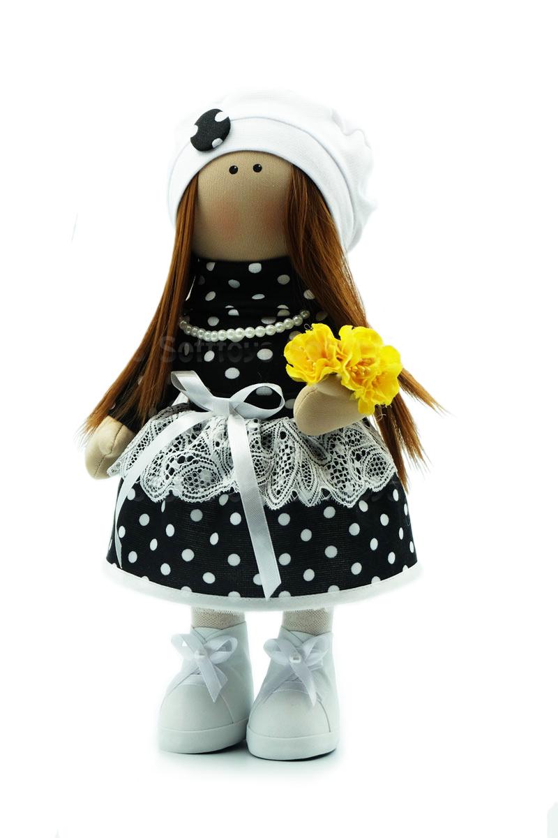 Текстильная Кукла ручной работы Диана