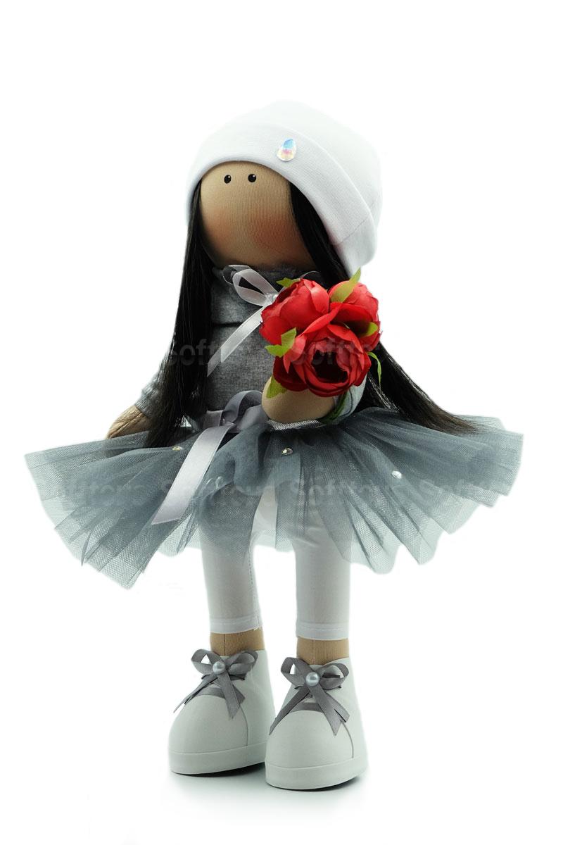 Текстильная Кукла ручной работы Эльза