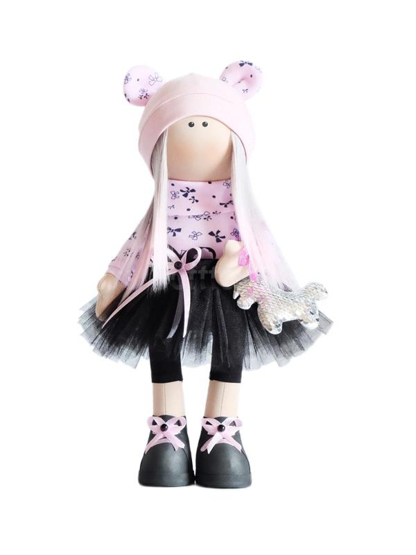 Текстильная Кукла ручной работы Эмилия