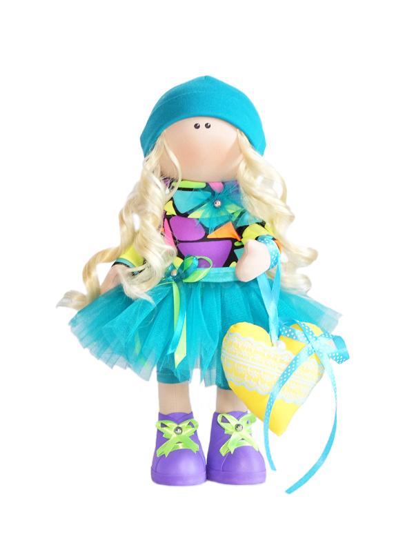 Текстильная Кукла ручной работы Ирина