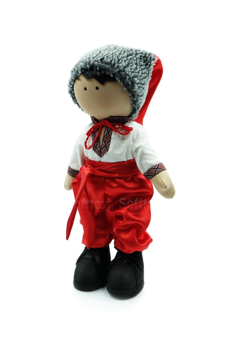 Текстильная Кукла ручной работы Казачок
