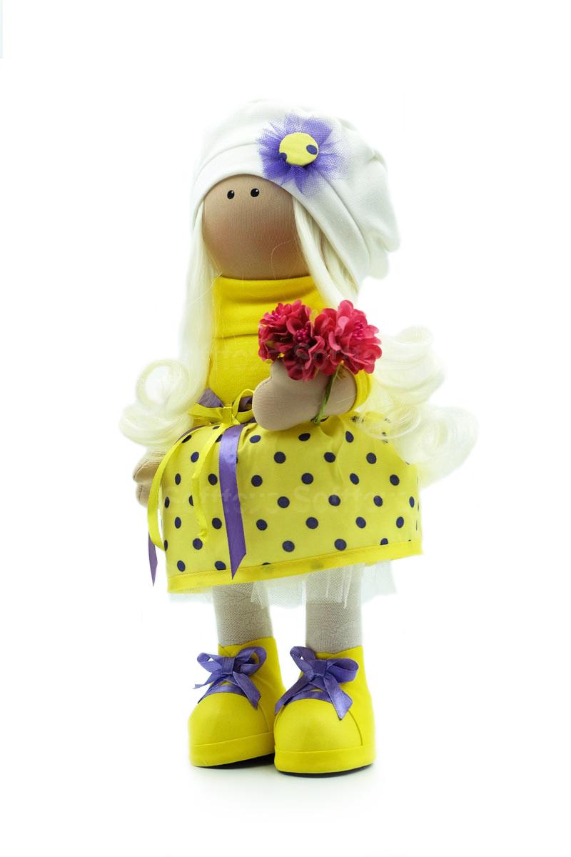 Текстильная Кукла ручной работы Лилия