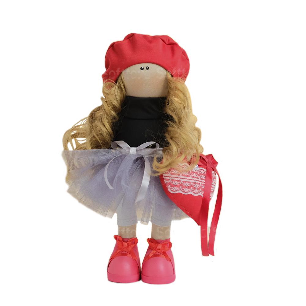 Текстильная Кукла ручной работы Мари