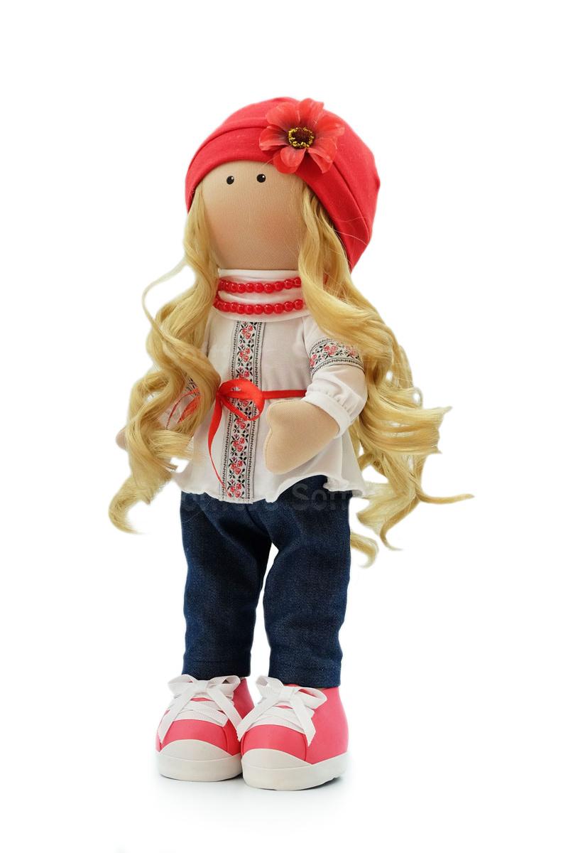 Текстильная Кукла ручной работы Марьяна