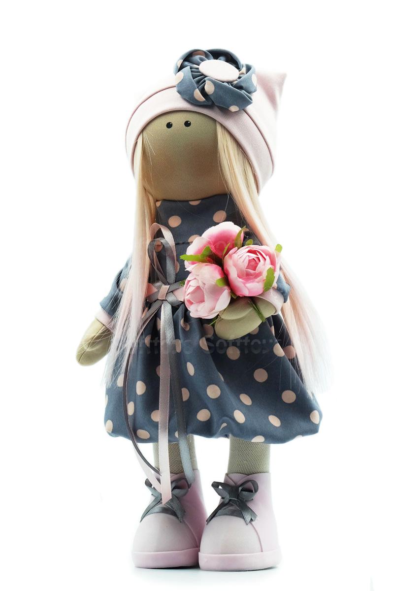 Текстильная Кукла ручной работы Настюша