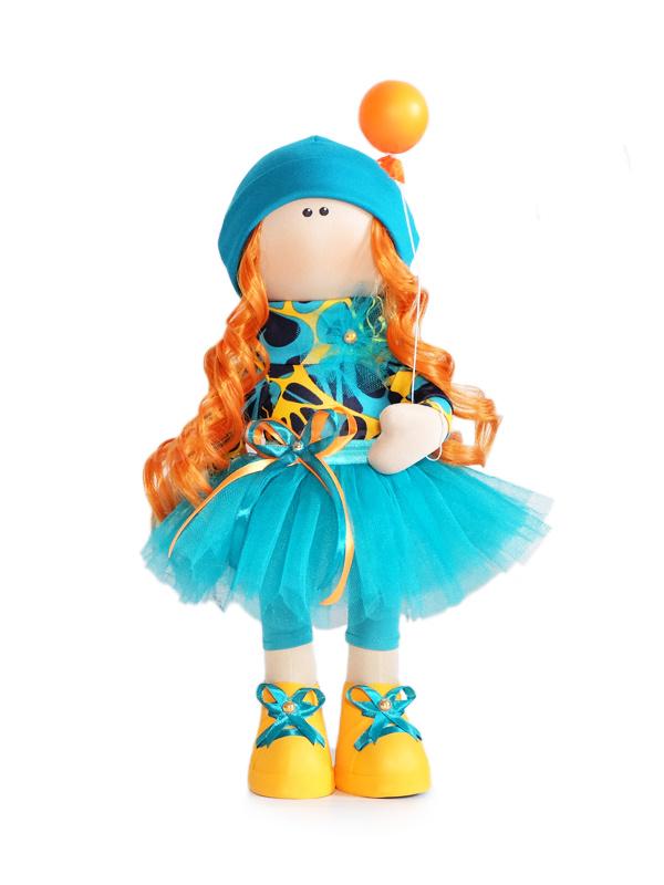 Текстильная Кукла ручной работы Полина