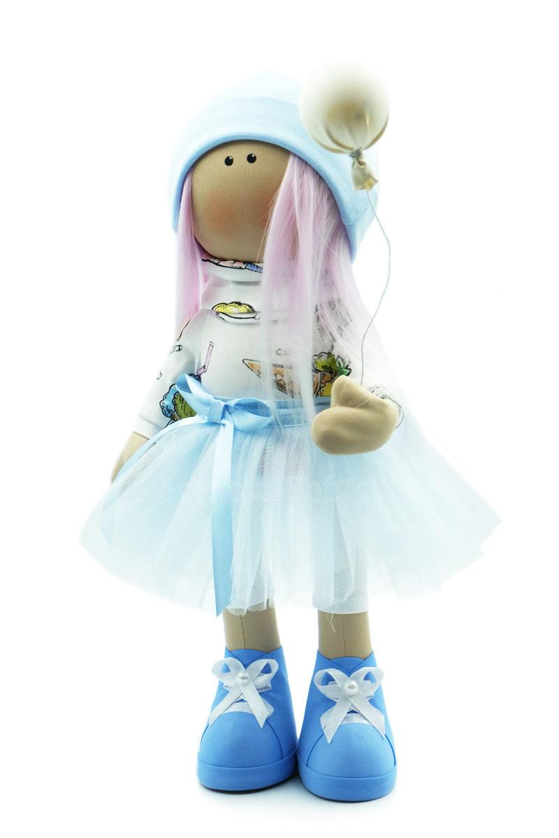 Текстильная Кукла ручной работы Саша