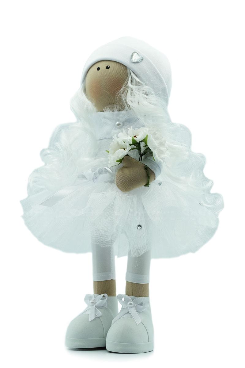 Текстильная Кукла ручной работы Снежана