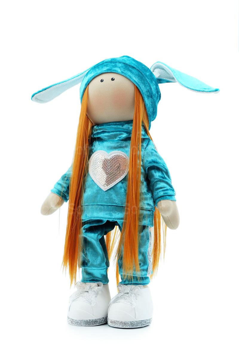 Текстильная Кукла ручной работы Валя