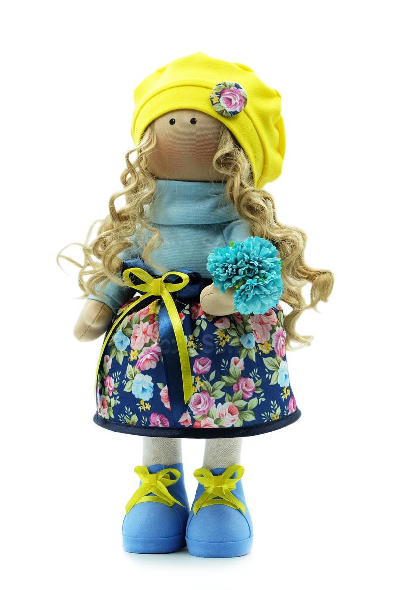 Текстильная Кукла ручной работы Варя