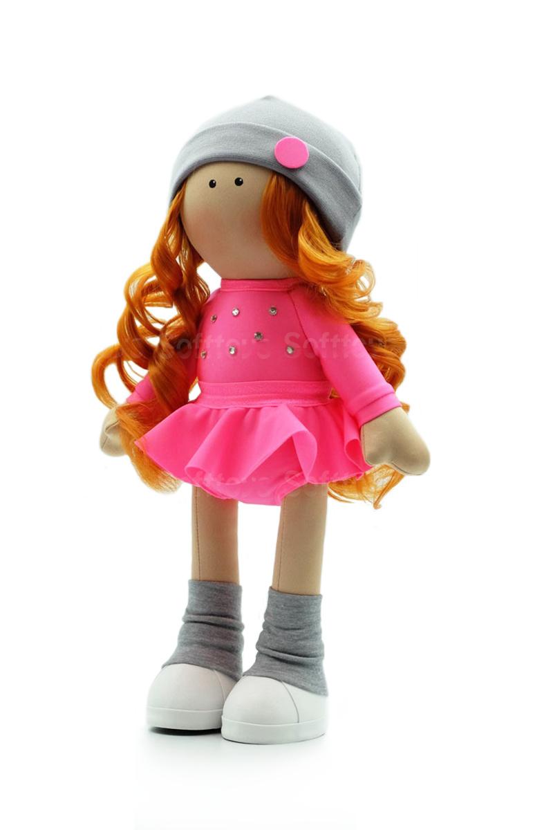 Текстильная Кукла ручной работы Виктория