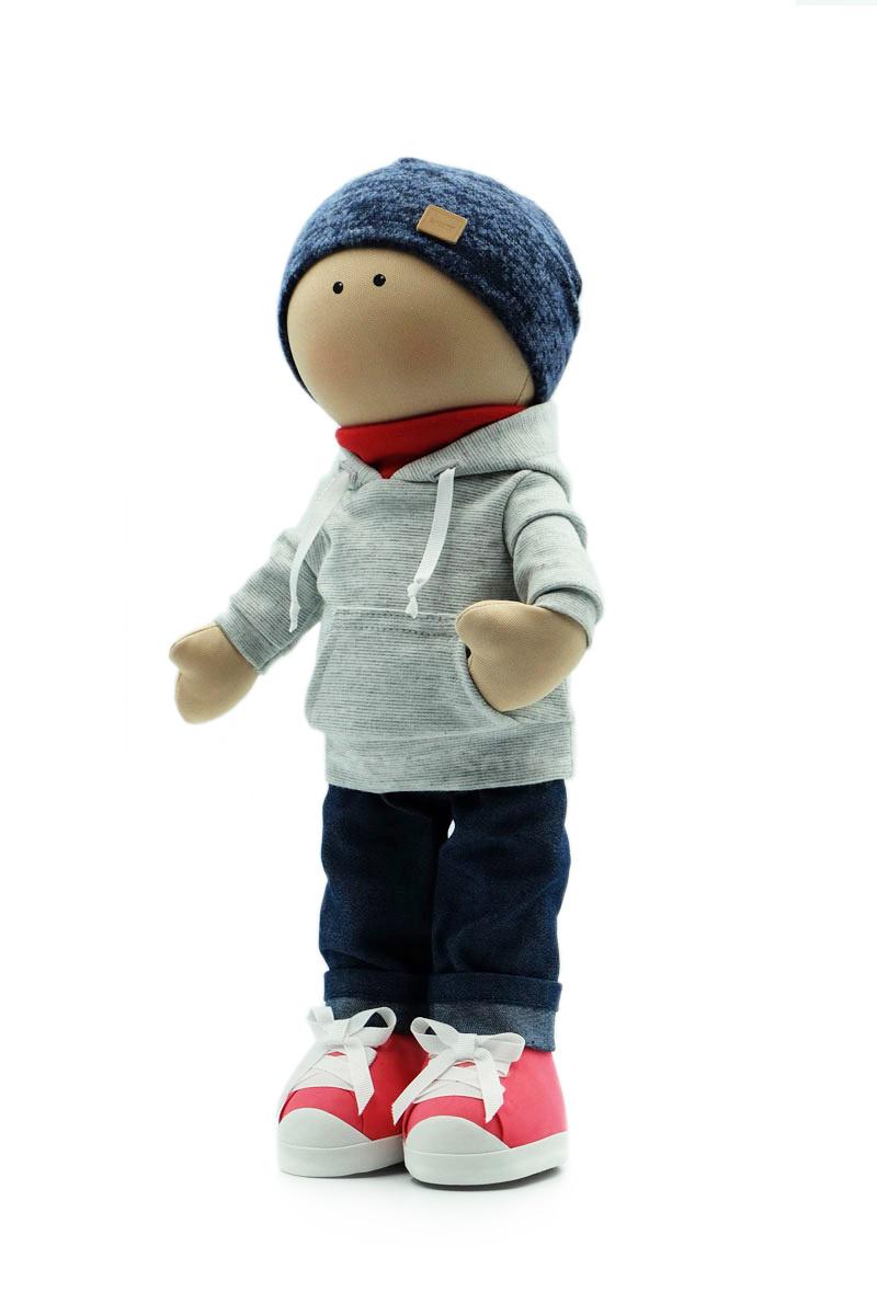 Текстильная Кукла ручной работы мальчик Марк