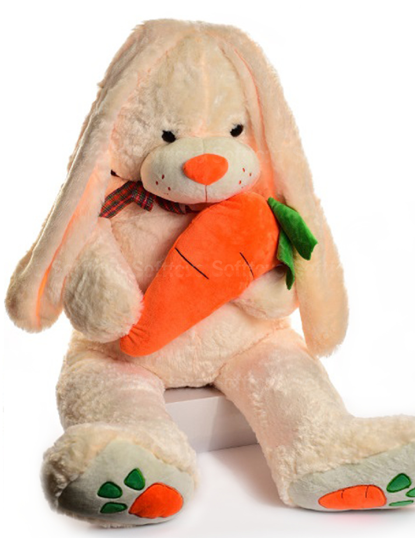 Зайчик с морковкой 110 см