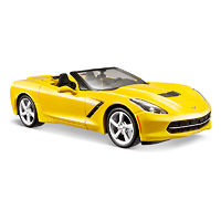 Corvette Stingray Convertible 2014 модель 1:24