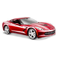 Corvette Stingray Coupe 2014 модель 1:24