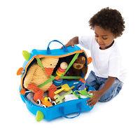 Детский дорожный чемоданчик Trunki Terrance (Голубой Транки)