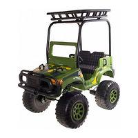 Детский электромобиль Jet Runner BACKYARD SAFARI 4Х4 Зеленый