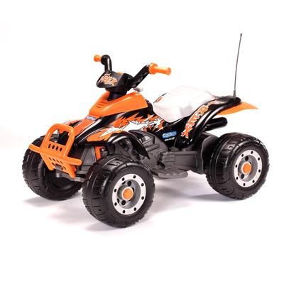 Детский электромобиль Peg Perego T-REX (черно-оранжевый)