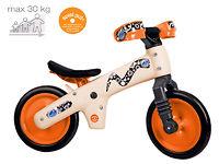 Детский велосипед (беговел) Bellelli B-Bip Pl обучающий бежевый