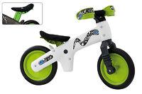 Детский велосипед (беговел) Bellelli B-Bip Pl обучающий бело-зеленый