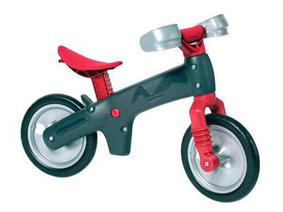 Детский велосипед (беговел) Bellelli B-Bip Pl обучающий серо-красный