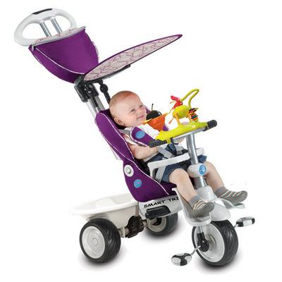 Детский велосипед Smart Trike Recliner Stroller 4 в 1 с игровой панелью
