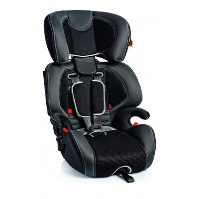 Детское автокресло Bellelli Gio Plus Fix черно-серое группа 1-2-3 (9-36 кг)
