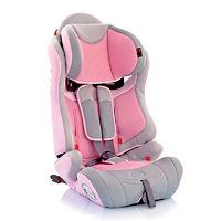 Детское автокресло Bellelli Maximo Fix розово-серое 1-2-3 (9-36 кг)