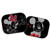 Экран солнцезащитный Minnie and Mickey на боковые окна автомобиля (2шт)