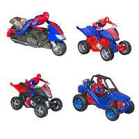 Фигурка Человека-Паука на транспортном средстве Marvel