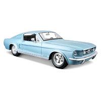 Ford Mustang GT 1967 модель автомобиля 1:24