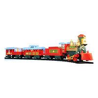 Железная дорога EZ-Tec Рождественский поезд