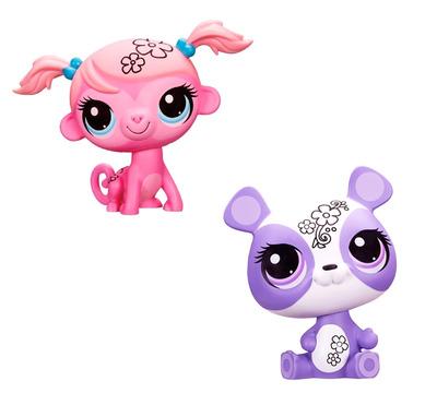 Игровой набор Укрась зверюшку Littlest Pet Shop (2 вида)