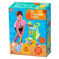 Игровой набор для уборки 8 предметов