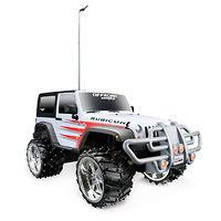 Jeep Wrangler Rubicon бело-красный р/у модель 1:16